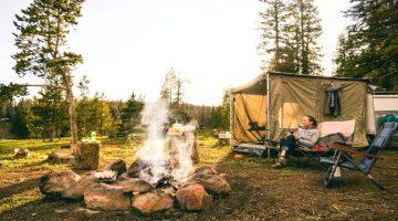 Why does campfire smoke follows you