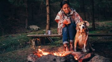 why-dog-is-scared-of-campfire-while-camping