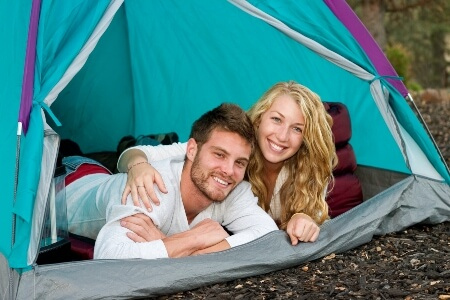 you should plan a comfort camping place for your wife